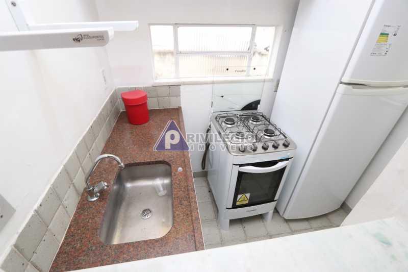 Cobertura - Botafogo - Botafogo! Sala quarto, cozinha americana, vista livre, sol matinal, condomínio barato. - HMAP10029 - 20