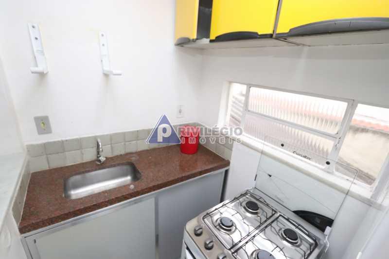 Cobertura - Botafogo - Botafogo! Sala quarto, cozinha americana, vista livre, sol matinal, condomínio barato. - HMAP10029 - 22