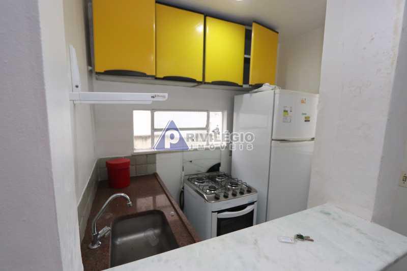 Cobertura - Botafogo - Botafogo! Sala quarto, cozinha americana, vista livre, sol matinal, condomínio barato. - HMAP10029 - 24