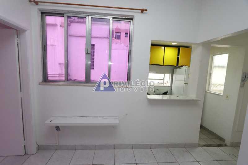 Cobertura - Botafogo - Botafogo! Sala quarto, cozinha americana, vista livre, sol matinal, condomínio barato. - HMAP10029 - 7