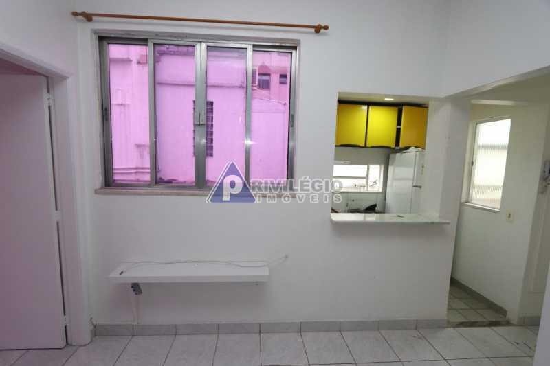 Cobertura - Botafogo - Botafogo! Sala quarto, cozinha americana, vista livre, sol matinal, condomínio barato. - HMAP10029 - 11