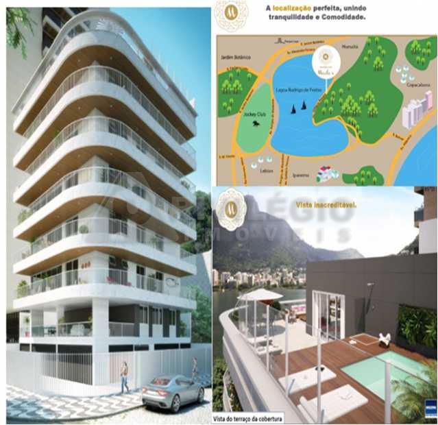 lagoa - Apartamento À VENDA, Lagoa, Rio de Janeiro, RJ - COAP40115 - 3