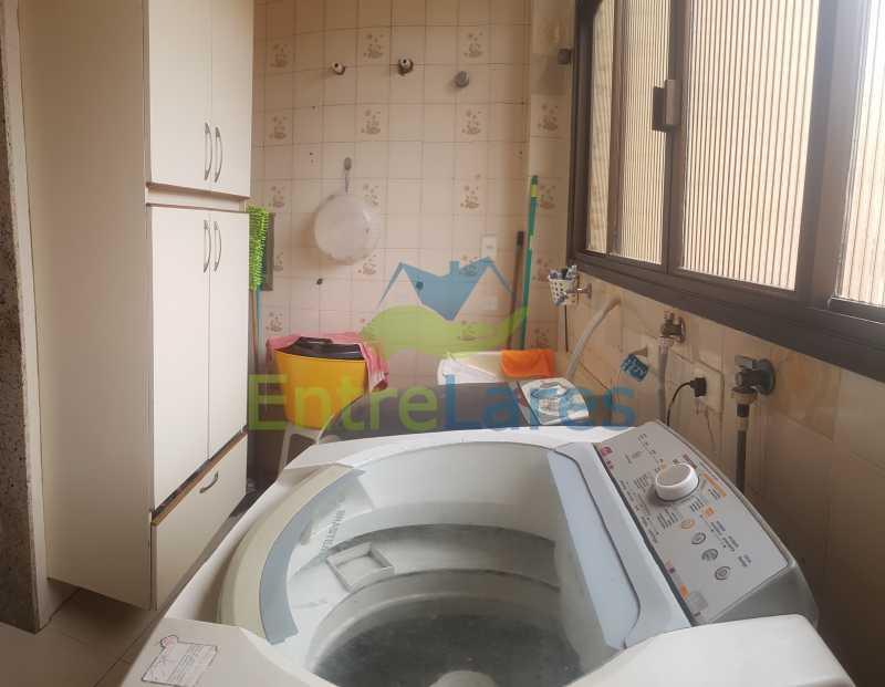 24 - Apartamento na Ribeira 4 quartos sendo 2 suítes com closet, varanda, copa, cozinha planejada, dependência completa com armário. 2 vagas de garagem. Prédio com piscina. Rua Paramopama. - ILAP40046 - 25