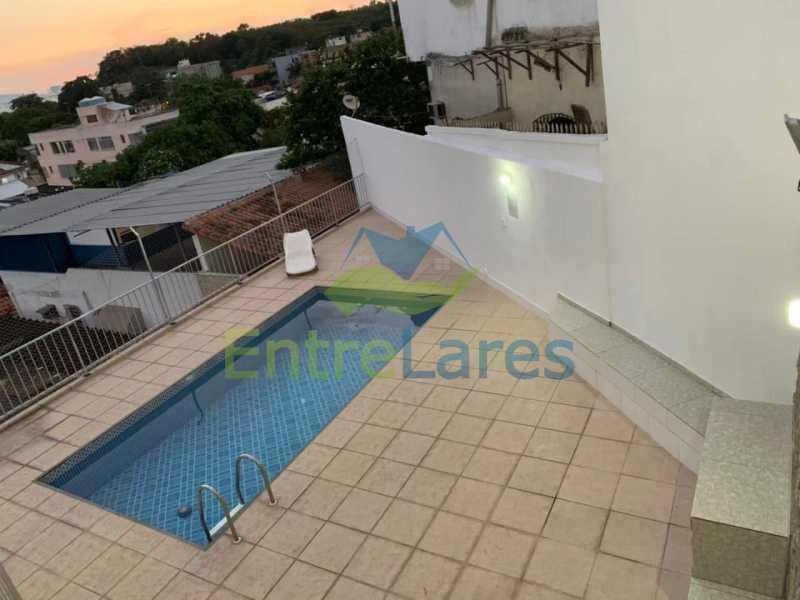 4 - Apartamento triplex em condomínio fechado com piscina na Ribeira 4 quartos sendo 1 com varanda, 2 banheiros sociais, 1 vaga de garagem. - ILAP40048 - 1