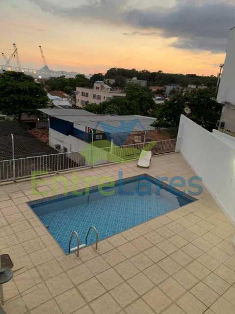 6 - Apartamento triplex em condomínio fechado com piscina na Ribeira 4 quartos sendo 1 com varanda, 2 banheiros sociais, 1 vaga de garagem. - ILAP40048 - 4