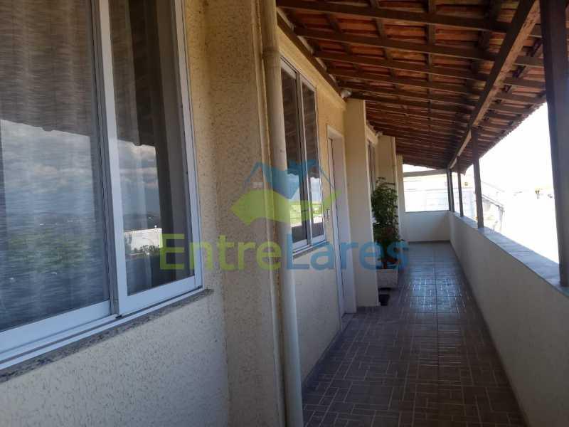 10 - Apartamento triplex em condomínio fechado com piscina na Ribeira 4 quartos sendo 1 com varanda, 2 banheiros sociais, 1 vaga de garagem. - ILAP40048 - 7