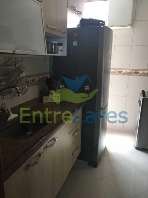 E - Apartamento na Ribeira 3 quartos, cozinha, 2 vagas de garagem. Rua Lourenço da Veiga - ILAP30262 - 21