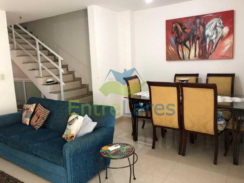 A3 - Casa em condomínio fechado na Praia da Bandeira 4 quartos sendo 1 suíte e 3 com acesso a varanda, lavabos, área de serviço com banheiro, cozinha, 2 vagas. Rua Ambaitinga - ILCN40004 - 4