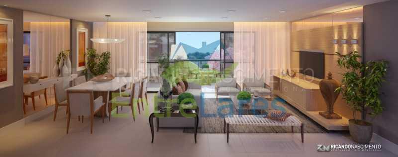 A2 - Apartamentos primeira locação no Jardim Guanabara, 4 quartos sendo 2 suítes master com closet, varandas, 3 vagas de garagem, prédio com piscina. Avenida Francisco Alves. - ILCO40009 - 3