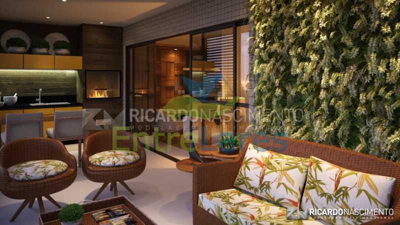 A3 - Apartamentos primeira locação no Jardim Guanabara, 4 quartos sendo 2 suítes master com closet, varandas, 3 vagas de garagem, prédio com piscina. Avenida Francisco Alves. - ILCO40009 - 4