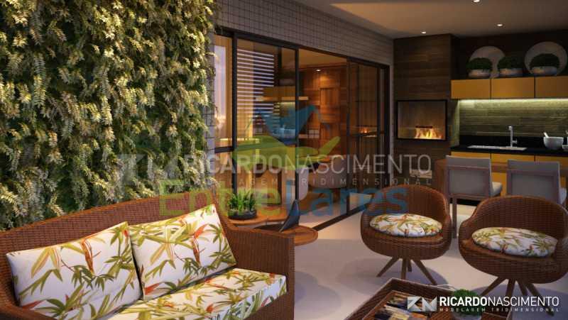 A4 - Apartamentos primeira locação no Jardim Guanabara, 4 quartos sendo 2 suítes master com closet, varandas, 3 vagas de garagem, prédio com piscina. Avenida Francisco Alves. - ILCO40009 - 5