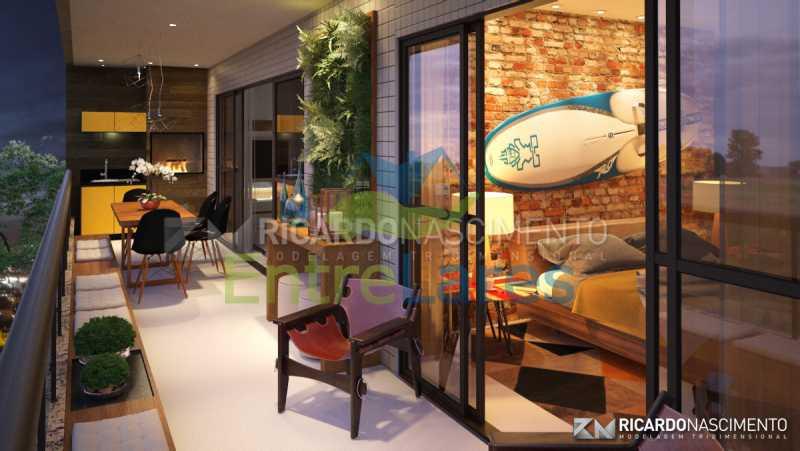 C1 - Apartamentos primeira locação no Jardim Guanabara, 4 quartos sendo 2 suítes master com closet, varandas, 3 vagas de garagem, prédio com piscina. Avenida Francisco Alves. - ILCO40009 - 7
