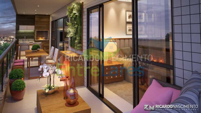 C2 - Apartamentos primeira locação no Jardim Guanabara, 4 quartos sendo 2 suítes master com closet, varandas, 3 vagas de garagem, prédio com piscina. Avenida Francisco Alves. - ILCO40009 - 8