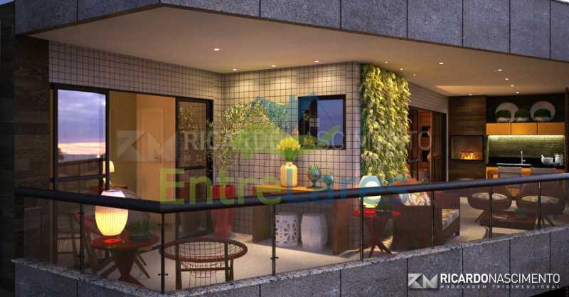 C3 - Apartamentos primeira locação no Jardim Guanabara, 4 quartos sendo 2 suítes master com closet, varandas, 3 vagas de garagem, prédio com piscina. Avenida Francisco Alves. - ILCO40009 - 9