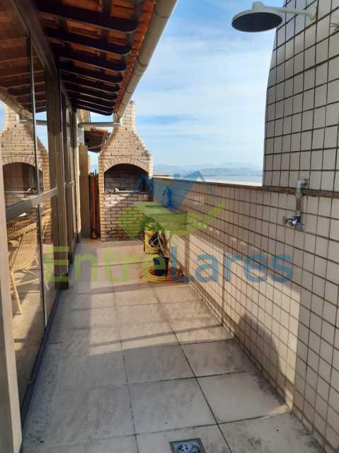 E6 - Cobertura no Jardim Guanabara 2 quartos planejados sendo 1 suíte, copa cozinha planejada área gourmet com churrasqueira, piscina. Rua Porto Seguro - ILCO20005 - 25