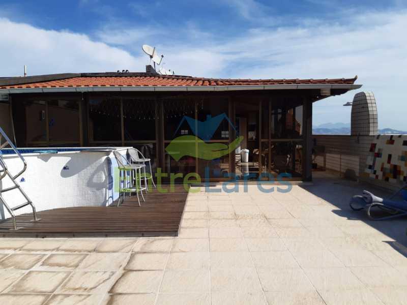 E7 - Cobertura no Jardim Guanabara 2 quartos planejados sendo 1 suíte, copa cozinha planejada área gourmet com churrasqueira, piscina. Rua Porto Seguro - ILCO20005 - 26