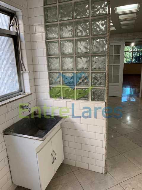 E2 - Apartamento no Jardim Guanabara 2 quartos planejados, dependência de empregada completa com armários, 2 vagas de garagem. Rua Rui Vaz Pinto - ILAP20481 - 12
