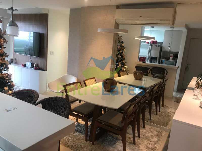 a2 - Apartamento no Recreio 3 quartos sendo 2 suítes, terceiro quarto revertido para closet, cozinha planejada, ar split. Rua Silvia Pozzano - ILAP30297 - 3