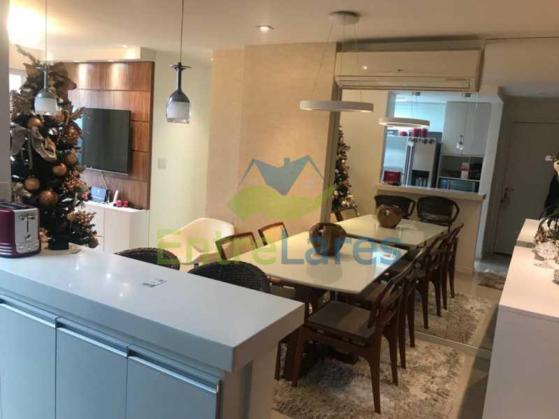 a8 - Apartamento no Recreio 3 quartos sendo 2 suítes, terceiro quarto revertido para closet, cozinha planejada, ar split. Rua Silvia Pozzano - ILAP30297 - 8