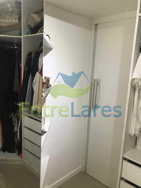 b7 - Apartamento no Recreio 3 quartos sendo 2 suítes, terceiro quarto revertido para closet, cozinha planejada, ar split. Rua Silvia Pozzano - ILAP30297 - 13