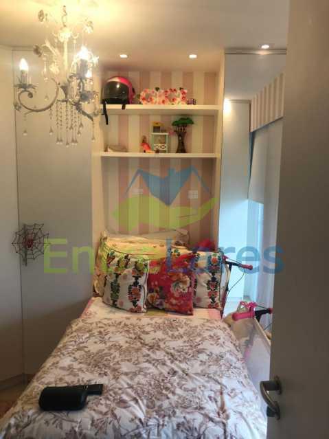 c2 - Apartamento no Recreio 3 quartos sendo 2 suítes, terceiro quarto revertido para closet, cozinha planejada, ar split. Rua Silvia Pozzano - ILAP30297 - 16