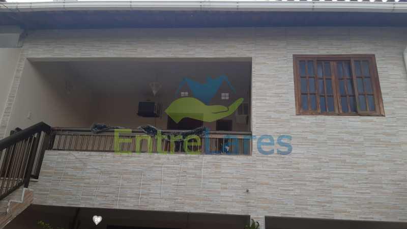 F10 NOVA - Portuguesa casa 5 quartos sendo 1 suíte. Churrasqueira, varandas, condomínio fechado, 2 vagas - ILCA40096 - 21