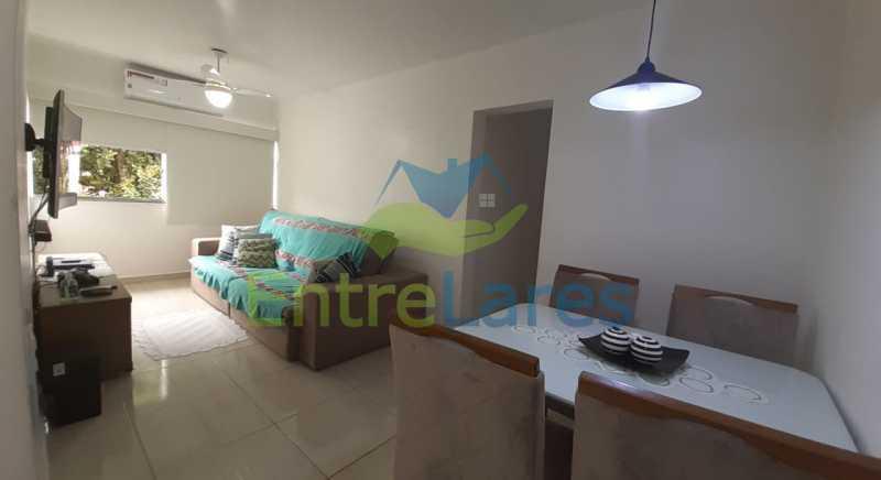 A1 - Apartamento no Moneró 2 quartos planejados, cozinha planejada, 1 vaga de garagem. Condomínio da Marinha - ILAP20512 - 1