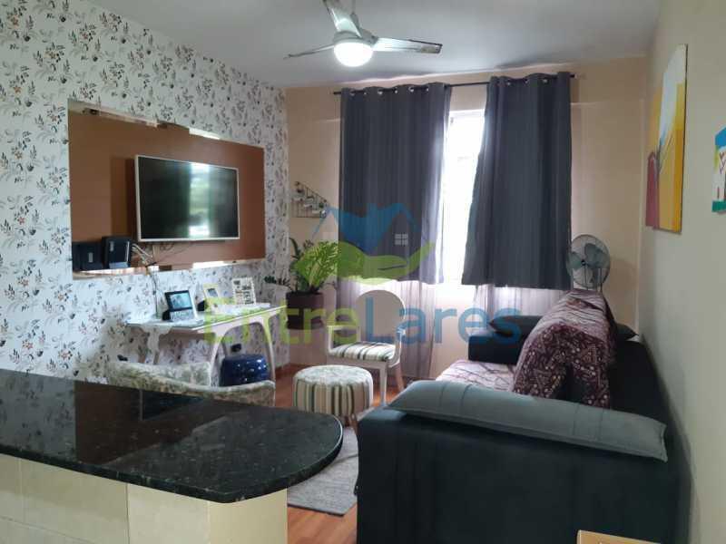A3 - Apartamento na Portuguesa 4 quartos sendo 2 planejados e 1 revertido para escritório, cozinha planejada, 1 vaga de garagem. Condomínio Santos Dumont - ILAP40060 - 4