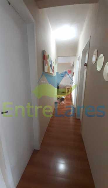 A10 - Apartamento na Portuguesa 4 quartos sendo 2 planejados e 1 revertido para escritório, cozinha planejada, 1 vaga de garagem. Condomínio Santos Dumont - ILAP40060 - 11