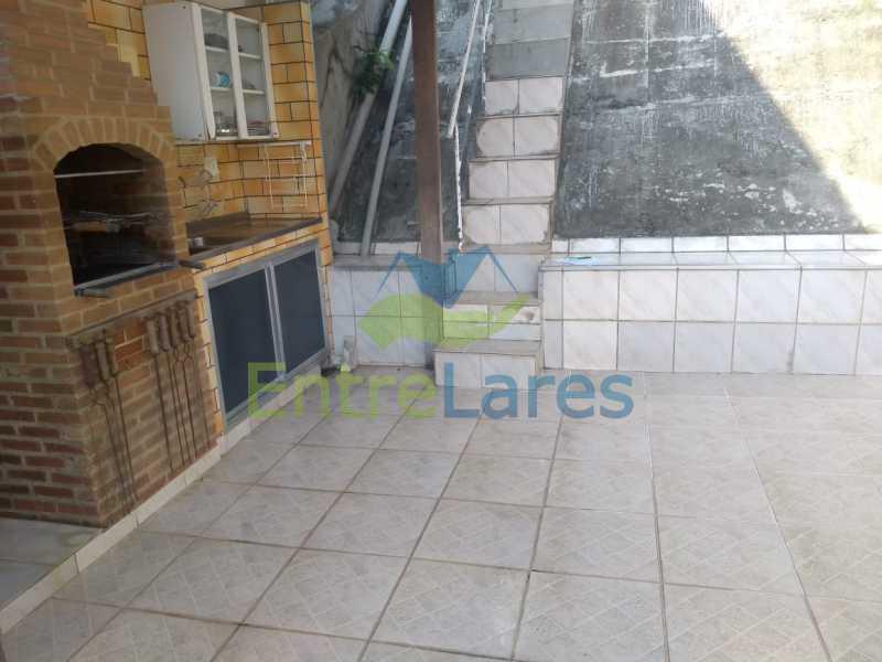 I5 - Casa duplex no Jardim Guanabara 3 quartos, sendo 1 suite, copa cozinha, play e área gourmet, piscina, churrasqueira, 5 vagas de garagem. Praia da bica - ILCA30128 - 23