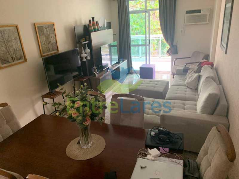 A1. - Apartamento em condomínio com piscina, sauna e área gourmet no Recreio 2 quartos sendo 1 suíte, cozinha planejada, 2 vagas de garagem, varandão. - ILAP20515 - 1