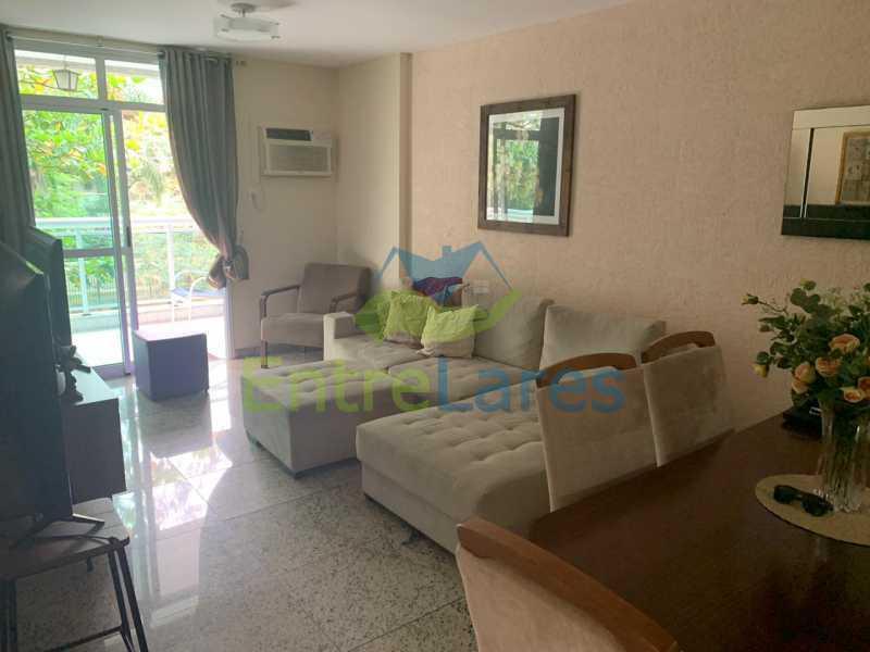 A4. - Apartamento em condomínio com piscina, sauna e área gourmet no Recreio 2 quartos sendo 1 suíte, cozinha planejada, 2 vagas de garagem, varandão. - ILAP20515 - 5