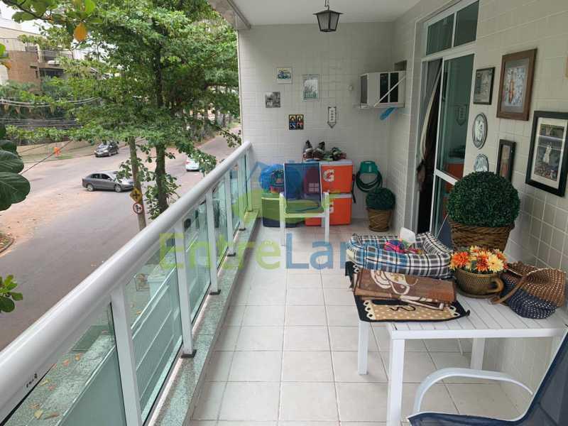 A6. - Apartamento em condomínio com piscina, sauna e área gourmet no Recreio 2 quartos sendo 1 suíte, cozinha planejada, 2 vagas de garagem, varandão. - ILAP20515 - 7