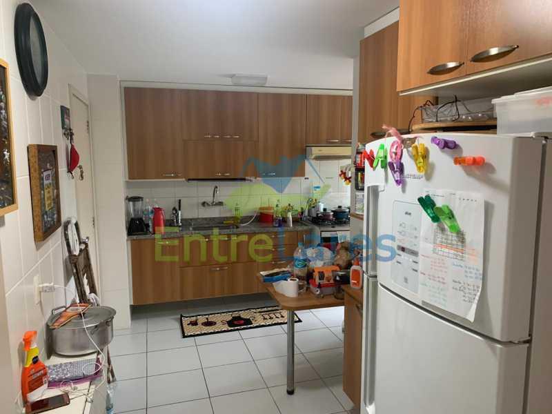 E1. - Apartamento em condomínio com piscina, sauna e área gourmet no Recreio 2 quartos sendo 1 suíte, cozinha planejada, 2 vagas de garagem, varandão. - ILAP20515 - 18