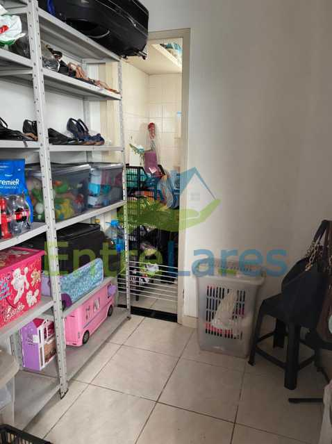 F1 - Apartamento no Taúa - 3 Quartos com armários embutidos e sendo um suíte - 3 Banheiros - Cozinha planejada - 1 Vaga - Com Elevador - Rua Jaime Perdigão - ILAP30309 - 16
