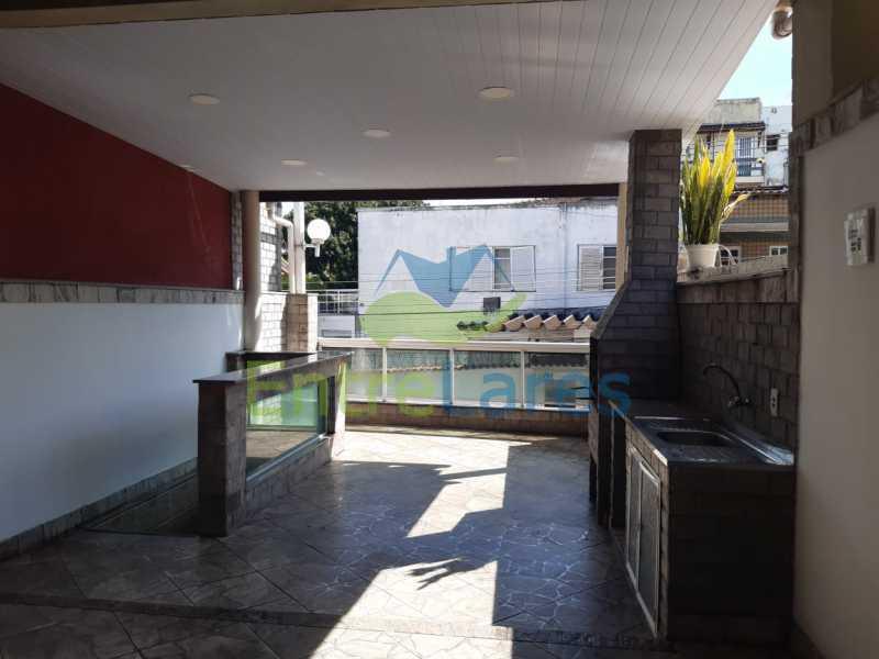 A3. - Casa Triplex em Condomínio na Portuguesa 3 Quartos sendo os 3 Suíte Varandão Área Gourmet com Churrasqueira Estrada do Galeão - ILCN30013 - 4