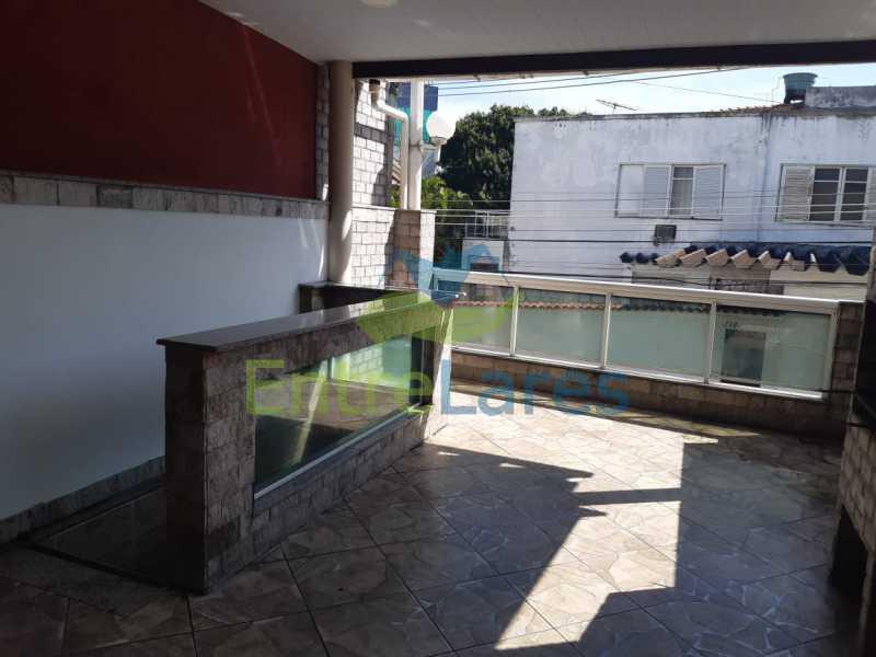 A7. - Casa Triplex em Condomínio na Portuguesa 3 Quartos sendo os 3 Suíte Varandão Área Gourmet com Churrasqueira Estrada do Galeão - ILCN30013 - 6