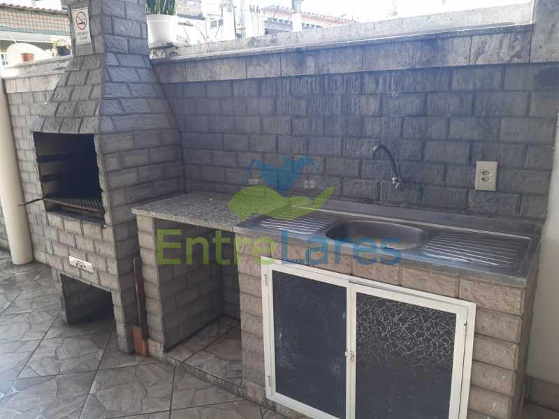 A8. - Casa Triplex em Condomínio na Portuguesa 3 Quartos sendo os 3 Suíte Varandão Área Gourmet com Churrasqueira Estrada do Galeão - ILCN30013 - 7