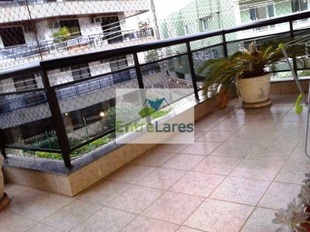 2 - Jardim Carioca - Apartamento com 135m², 3 dormitórios sendo um suíte, dependências, elevador, 2 vagas - ILAP30057 - 1