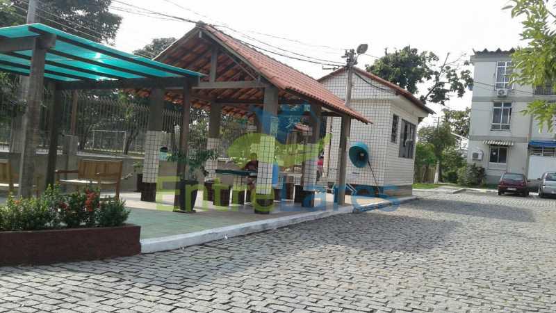 3 - Apartamento na Portuguesa, térreo, 2 quartos com 1 vaga de garagem. Rua Jorge Veiga - ILAP20304 - 1