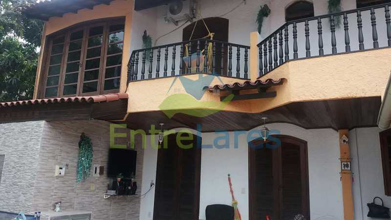 7 - Casa nas Pitangueiras - Estilo colonial - Vista Baía de Guanabara, 5 quartos, 2 vagas de garagem, sauna, piscina. Rua Pracinha José Varela - ILCA50031 - 4
