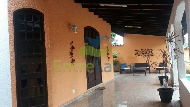 11 - Casa nas Pitangueiras - Estilo colonial - Vista Baía de Guanabara, 5 quartos, 2 vagas de garagem, sauna, piscina. Rua Pracinha José Varela - ILCA50031 - 7