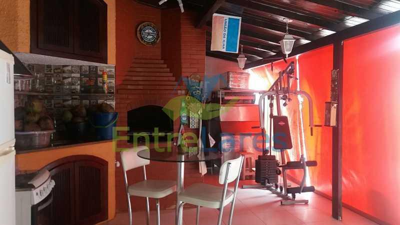 13 - Casa nas Pitangueiras - Estilo colonial - Vista Baía de Guanabara, 5 quartos, 2 vagas de garagem, sauna, piscina. Rua Pracinha José Varela - ILCA50031 - 10