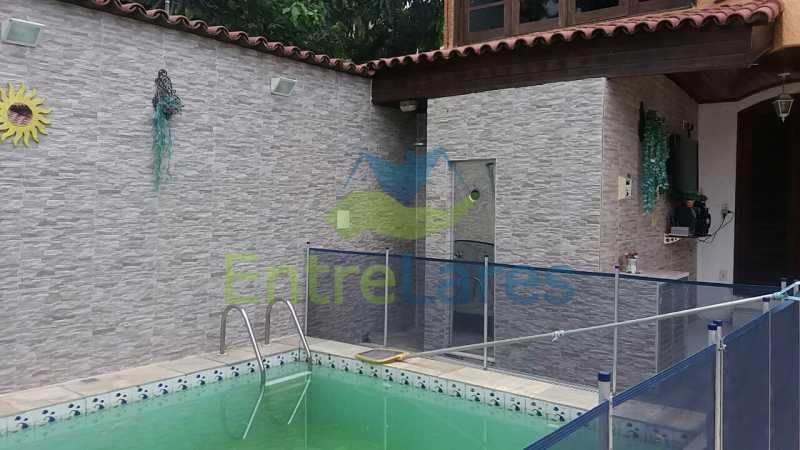 15 - Casa nas Pitangueiras - Estilo colonial - Vista Baía de Guanabara, 5 quartos, 2 vagas de garagem, sauna, piscina. Rua Pracinha José Varela - ILCA50031 - 8