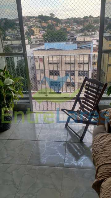 6 - Jardim Guanabara - Excelente localização, prédio composto por ampla área de lazer, 2 quartos sendo 1 suíte, varanda, 1 vaga de garagem. - ILAP20312 - 3