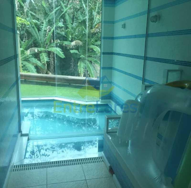 9b - Estrada da Barra da Tijuca - Condomínio Reserva Itanhangá. Mansão espetacular, Casa com 1.300 metros, 5 suítes com closet, 4 vagas de garagem, boate, piscina, sauna com hidromassagem, riacho. - ILCN50001 - 9