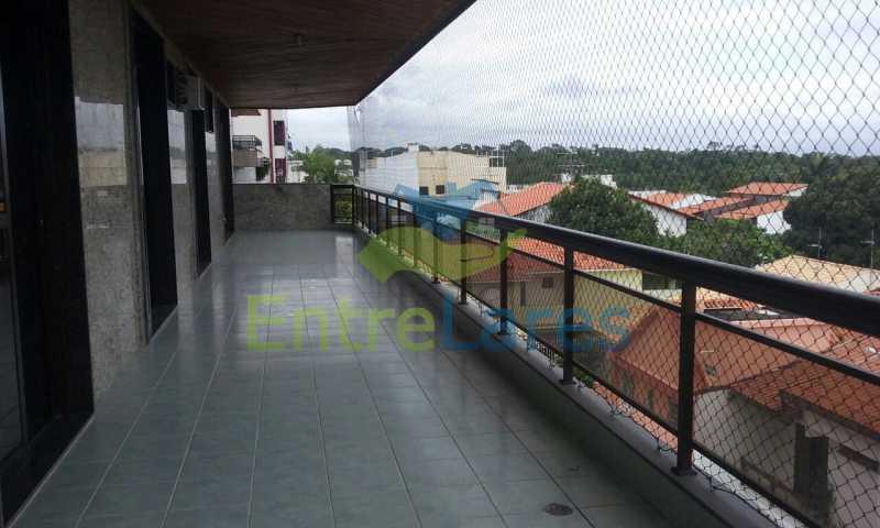 5 - Cobertura no Jardim Guanabara, 4 quartos sendo 2 suítes, hidromassagem, varandão piscina, sauna e churrasqueira. - ILCO40005 - 1