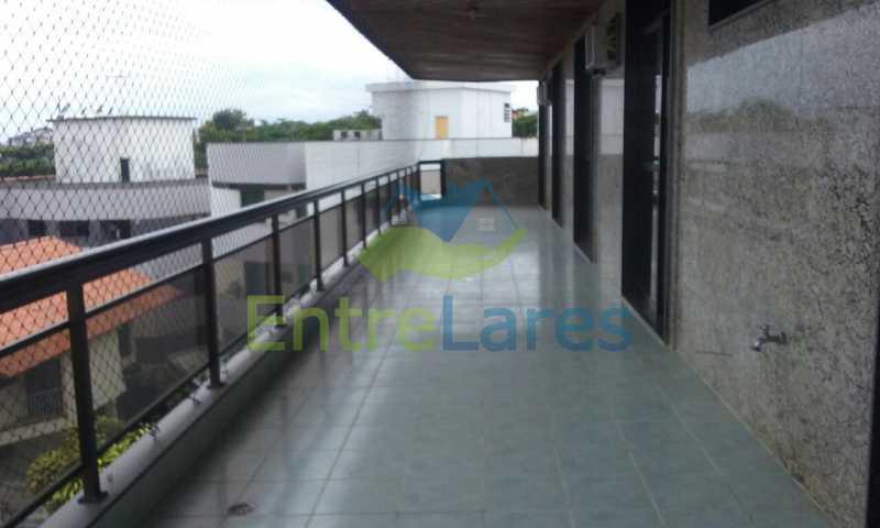9 - Cobertura no Jardim Guanabara, 4 quartos sendo 2 suítes, hidromassagem, varandão piscina, sauna e churrasqueira. - ILCO40005 - 4