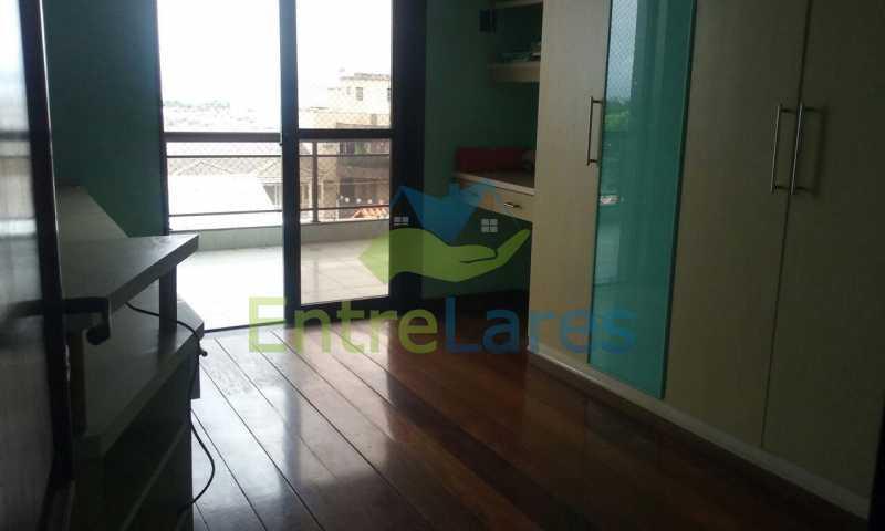 25 - Cobertura no Jardim Guanabara, 4 quartos sendo 2 suítes, hidromassagem, varandão piscina, sauna e churrasqueira. - ILCO40005 - 12