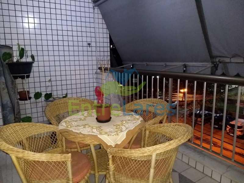 3 - Apartamento no Cacuia 2 quartos, varanda, dependência completa, 2 vagas de garagem. Estrada da Bica. - ILAP20335 - 1